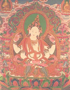 The Wisdom Goddess Prajnaparamita